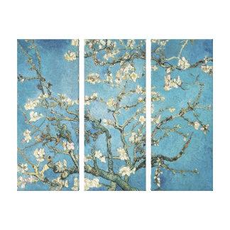 Toile Branches d'amande de Vincent van Gogh   en fleur,