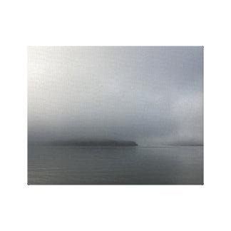 Toile Brouillard d'île d'abri