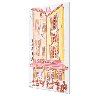 Toile Café de Le Cezanne, Aix-en-Provence, France