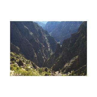 Toile Canyon noir de Gunnison