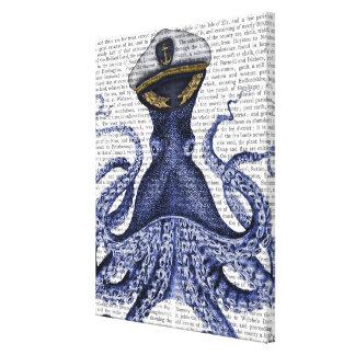 Toile Capitaine Octopus