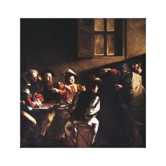 Toile Caravaggio appeler de St Matthew