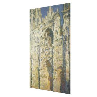 Toile Cathédrale de Claude Monet | Rouen à la pleine