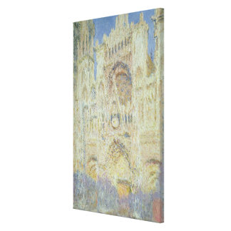 Toile Cathédrale de Claude Monet | Rouen au coucher du