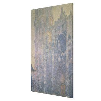 Toile Cathédrale de Claude Monet | Rouen, harmonie dans