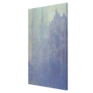 Toile Cathédrale de Claude Monet | Rouen, temps brumeux