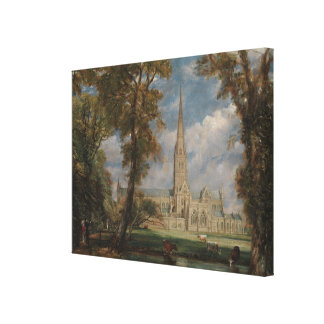 Toile Cathédrale de Salisbury de Grounds de l'évêque