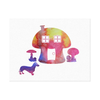 Toile Chambre de champignon