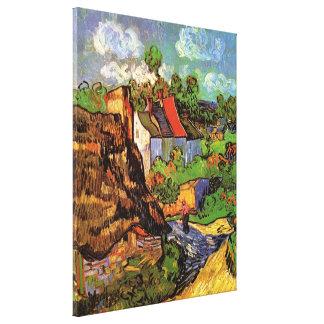 Toile Chambres de Van Gogh dans Auvers, beaux-arts