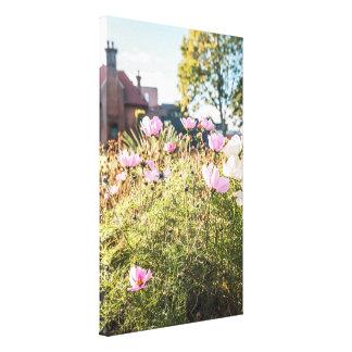 Toile Chambres et fleurs