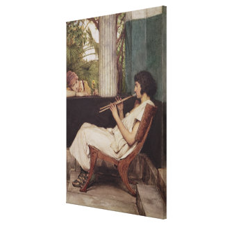 Toile Charmes de Hath de musique d'Alma-Tadema |