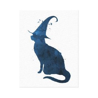 Toile Chat de sorcière