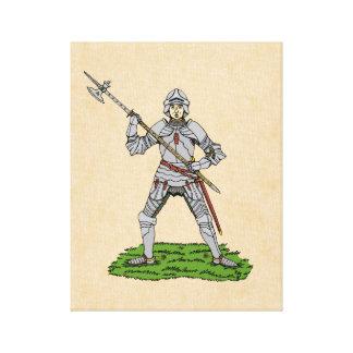 Toile Chevalier anglais du 15ème siècle
