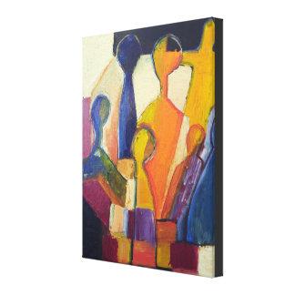 Toile Chiffre moderne résumé de cubisme