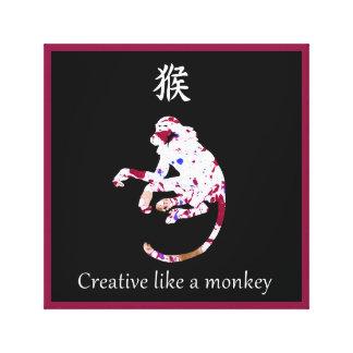Toile chinoise de zodiaque - créative comme un