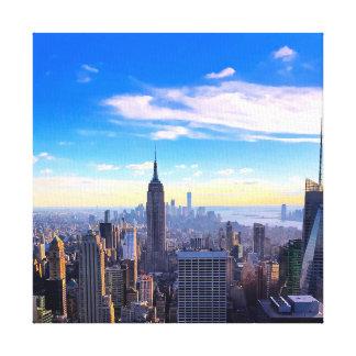 Toile Ciel de NYC