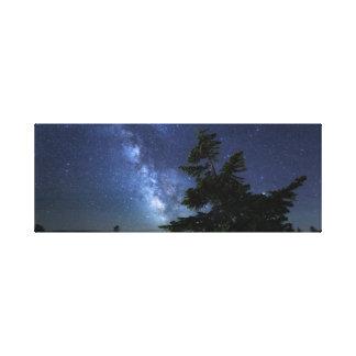 Toile Ciel nocturne du Maine