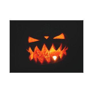 Toile Citrouille de Halloween