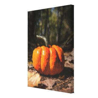 Toile Citrouille de Halloween d'automne