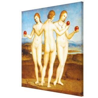Toile Classique reconstitué de Raphael la peinture de