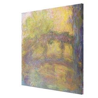 Toile Claude Monet | le pont japonais, 1918-24