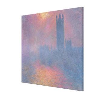 Toile Claude Monet | les Chambres du Parlement, Londres