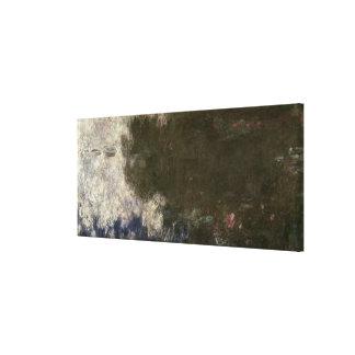 Toile Claude Monet | les nénuphars les nuages, 1914-18