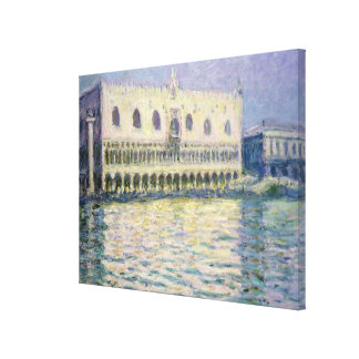 Toile Claude Monet | Palace ducal, Venise, 1908
