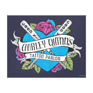 Toile Coeur de salon de tatouage du suicide peloton |