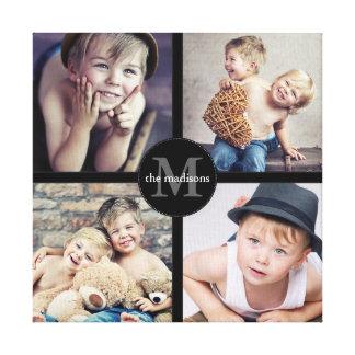 Toile Collage personnalisé de photo de famille
