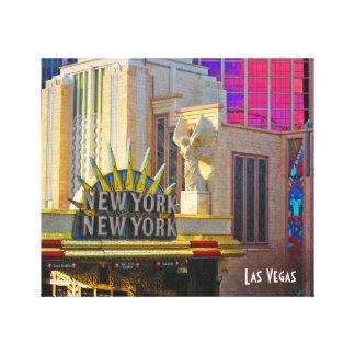 Toile Collection de voyage de Las Vegas - New York - New