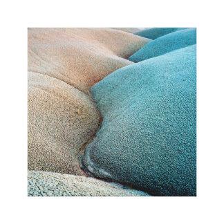 Toile Collines de bentonite - parc national de récif de