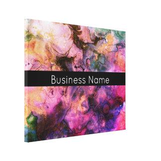 Toile Coloré, peinture abstraite de grunge avec la