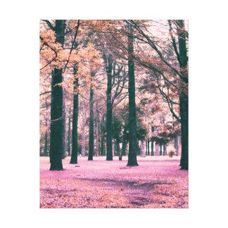 Toile Colorez les arbres effectués en parc de Yoyogi à