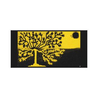 toile colurful d'un arbre