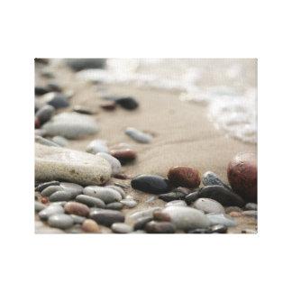 Toile Conception de photo du bord de la mer  