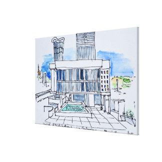 Toile Conçu par Le Corbusier | Marseille, la France