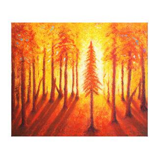 Toile Consolation - copie de la peinture acrylique