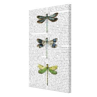 Toile Copie 3 de libellules