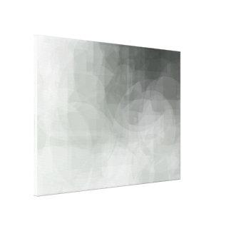 Toile Copie abstraite verte 28 x 20 de formes