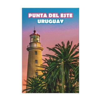 Toile Copie d'affiche de Punta del Este