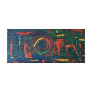 """Toile Copie d'art abstrait de """"déformation"""""""
