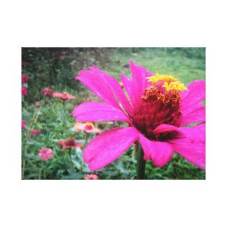 Toile Copie de fleur