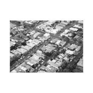 Toile Copie de photo de ville de Melbourne