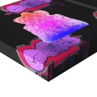 Toile Copies d'art de mur de panneau du graphique 3 de