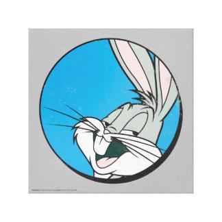 Toile Correction bleue de ™ de BUGS BUNNY rétro