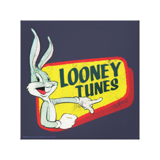 Toile Correction LOONEY du ™ TUNES™ de BUGS BUNNY rétro
