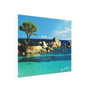Toile Corse, autre vue de Palombaggia
