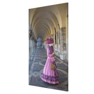 Toile Costume femelle de carnaval, Venise