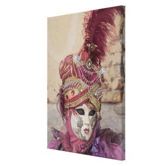 Toile Costume pourpre de carnaval, Venise